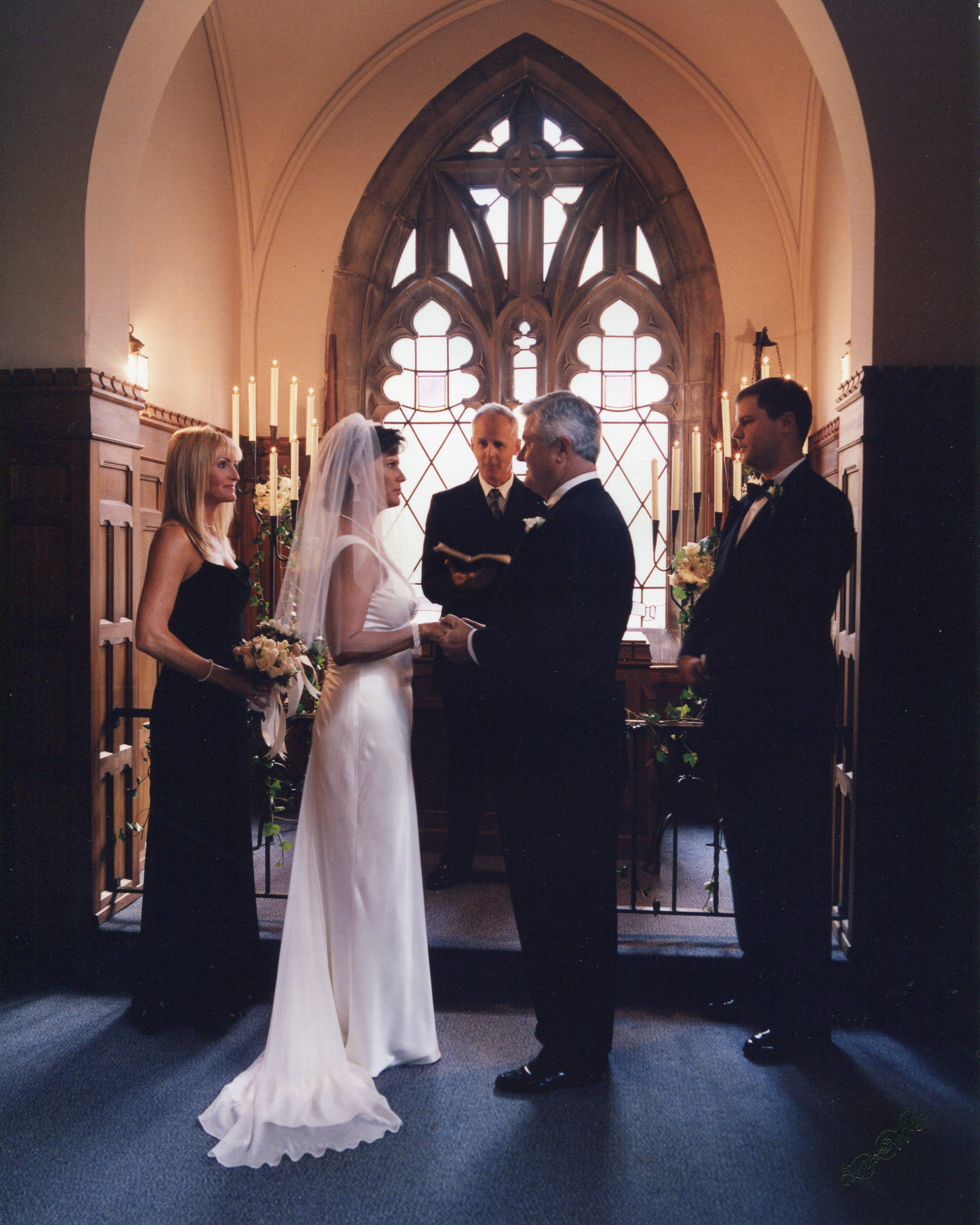 Evening Wedding At Skinner Chapel Photo By David Wright